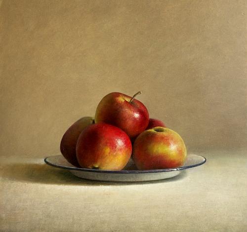 Stilleven met appelen, 2009