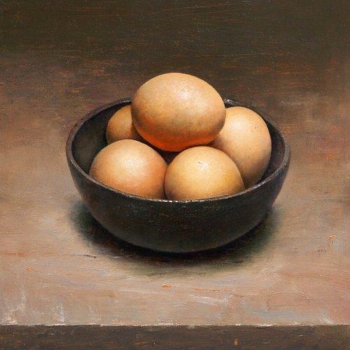Stilleven met eieren, 2010