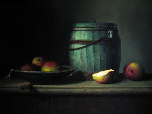 Schilderij van Willie Berkers